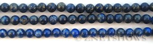 lapis  round Beads <b>About 5.5mm</b>     per   <b> 15.5-in-str</b>