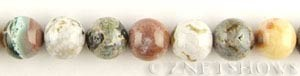 ocean jasper  round Beads <b>14mm</b>     per   <b> 15.5-in-str</b>