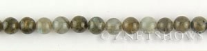 Other stone & material labradorite round Beads <b>8mm</b>     per   <b> 15.5-in-str</b>