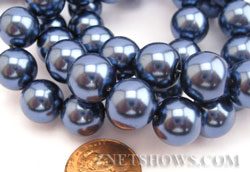 Wholesale Round Glass Pearls
