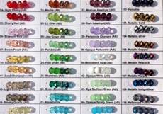 Wholesale Tiaria Bead Colors