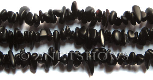 Cultured Sea Glass pebbles Beads  <b>9x6mm</b>  Black-Purple     per  <b>8-in-str</b>