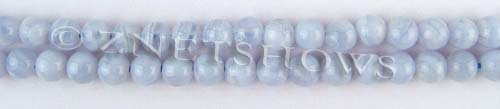 blue lace agate  round Beads <b>6mm</b>     per   <b> 15.5-in-str</b>