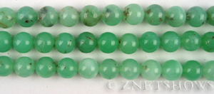 Other stone & material chrysoprase round Beads <b>8mm </b>     per   <b> 16-in-str</b>