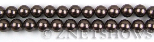 south sea shell pearl purple Darker round Beads <b>8mm</b>     per   <b> 8-in-str</b>