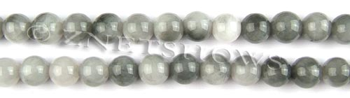 Other stone & material hawks eye round Beads <b>8mm</b>     per   <b> 15.5-in-str</b>