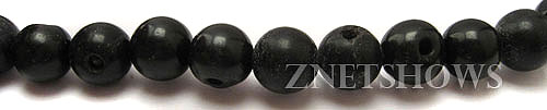 Other stone & material Jet round Beads <b>around 8-10mm</b>     per   <b> 15.5-in-str</b>
