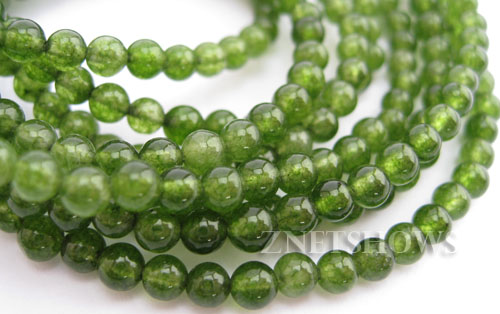 Other stone & material Taiwanese Jade round Beads <b>5mm</b>     per   <b> About 16 inch str</b>
