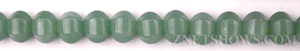 green aventurine  pumpkin Beads <b>9mm</b>     per   <b> 15.5-in-str</b>