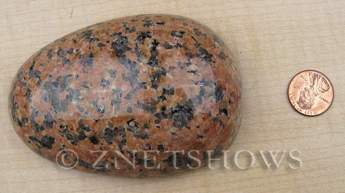 Other stone & material marble orange with black dots Massage Palms  Pendants <b>95x65mm</b>     per   <b> piece</b>