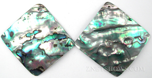 shell - abalone  diamond Pendants <b>About 45mm</b>     per   <b>piece</b>
