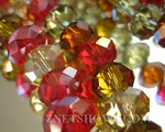 Tiaria Glass Crystal Beads Colors
