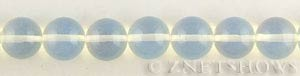 opalescent glass quartz  round Beads <b>14mm</b>     per   <b> 15.5-in-str</b>