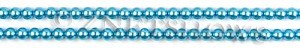 Glass Pearls <b>4mm</b> Round Blue Color K0246 (15.5-in-str)   per <b>5-str-hank</b>