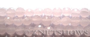 Tiaria Glass Crystal 48-Opaque Blossom Pink coin Beads <b>10mm</b> faceted     per   <b> 5-str-hank (20-pc-str)</b>